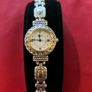Brighton NANTUCKET Gold and Silver Watch